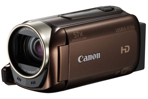 Canon HF R56 Camcorder Brown FHD 8Gb Flash/SDXC WiFi