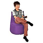 ValuFurniture Large Gamer Purple Bean Bag