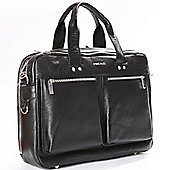 Head Premium Leather Media Case/Laptop Bag