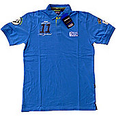 Official Rugby World Cup 2011 Stadium Polo - Blue