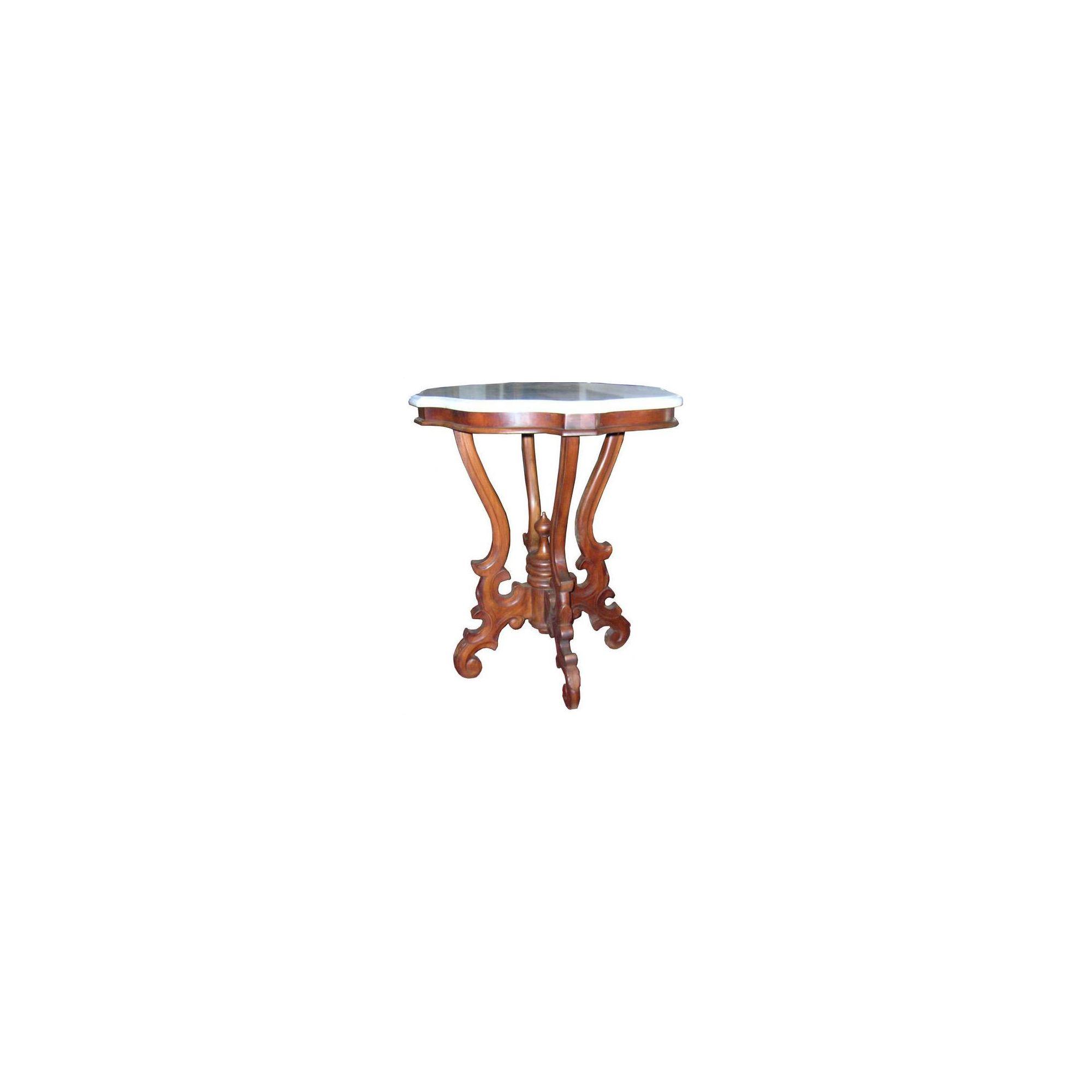 Lock stock and barrel Mahogany Victorian Side Table in Mahogany at Tesco Direct