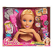 Barbie Colour and Crimp Deluxe Styling Head Tool Set