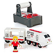 Brio 33510 Rc Travel Train For Wooden Train Set