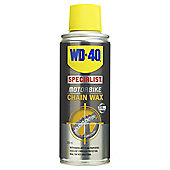 WD-40 Motorbike Chain Wax, 200ml