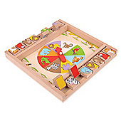 Bigjigs Toys Animal Shut the Box