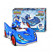 Sonic the Hedgehog Meccano Sonic and Speed Star