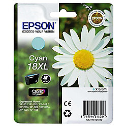 Epson 18XL (C13T18124010 CXL) Printer Ink Cartridge - Cyan