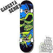 Madd Gear Gangsta Series Capped Complete Skateboard
