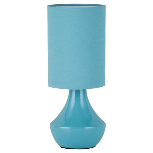 Susannah Ceramic Table Lamp, Soft Teal