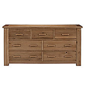 Kelburn Furniture Sasso 3 Over 4 Drawer Multi Chest