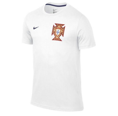 2014-15 Portugal Nike Core Tee (White)