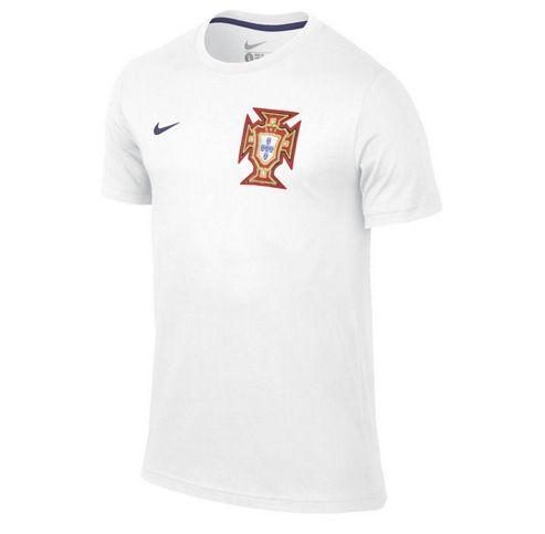 2014-15 Portugal Nike Core Tee (White)