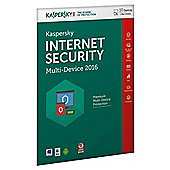 Kaspersky Internet Security Multi-Device 2016, 10 Devices, 1 Year