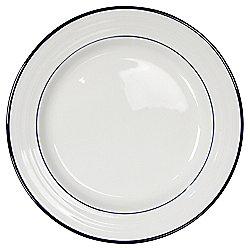 Tesco Porcelain Blue Band Side Plate
