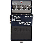 Boss BB-1X Bass Driver Compact Bass Guitar Effects Pedal