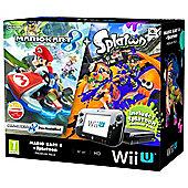 Wii U HW Premium Mario Kart 8 (Preinstalled) + Splatoon (DLC Code)