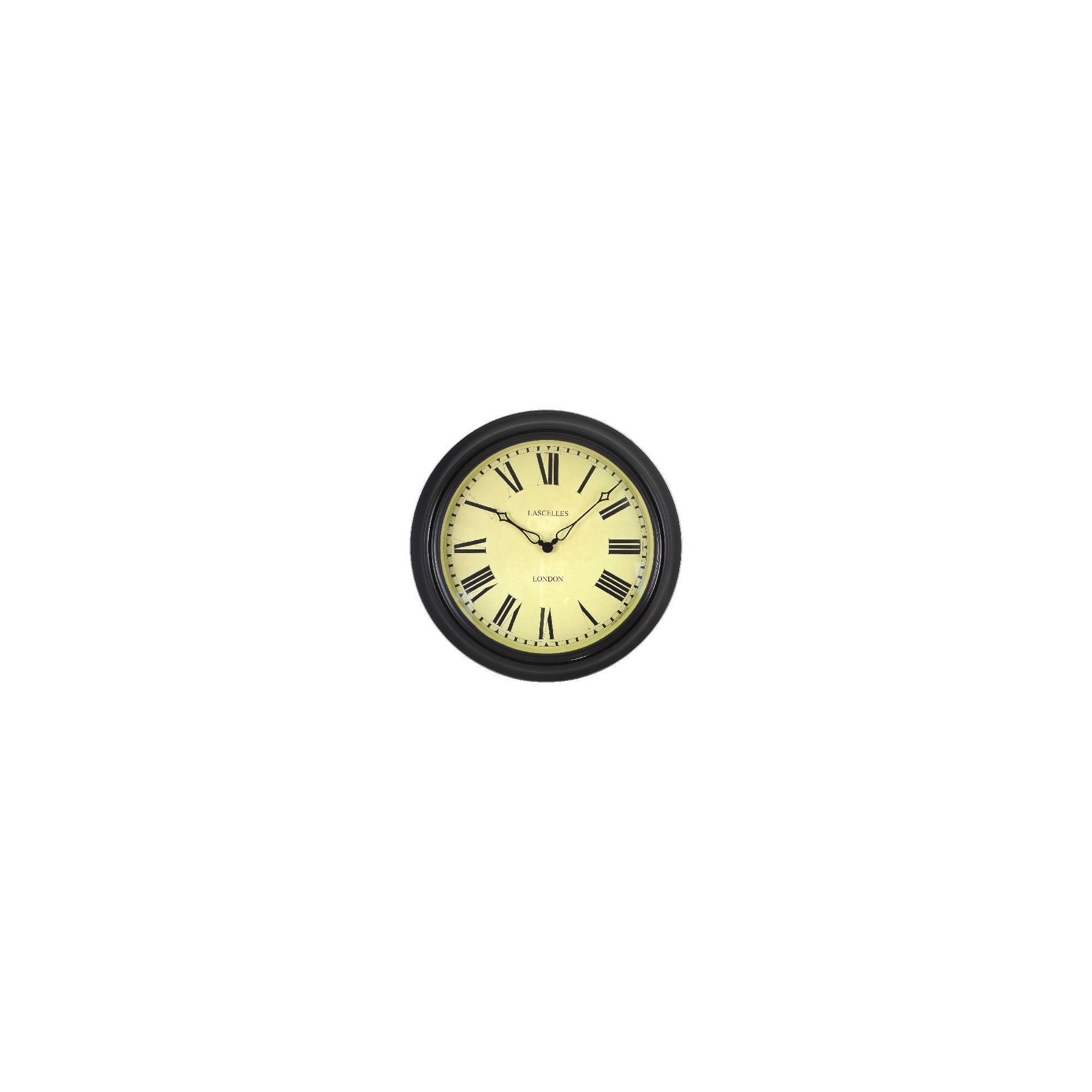 Roger lascelles wall clocks gallery home wall decoration ideas roger lascelles radio controlled wall clock silver 12000 wall roger lascelles clocks station clock in black amipublicfo Image collections
