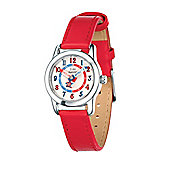 Children's D for Diamond Girl's Time Teacher Red Watch