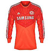 2014-15 Chelsea Adidas Home Goalkeeper Shirt (Kids) - Red