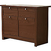 ValuFurniture Fuse Sideboard - Walnut