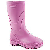 Brantano Girls Basic Wellington Boots - Pink