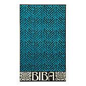 Biba Turquoise Snake Beach Towel