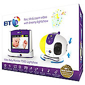 BT VBM7500 Lightshow Baby Video Monitor
