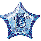 20' 13th Star Foil Balloon (each)