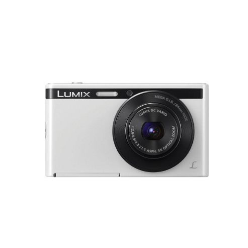 Panasonic XS1 Digital Camera, White, 16MP, 5x Optical Zoom, 2.7