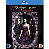 The Vampire Diaries - Season 1-5 Blu-ray