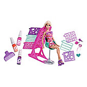 Barbie Hairtastic Colour & Design Salon Playset