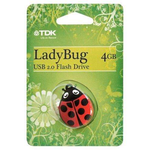 TDK USB 2.0 Flash Drive 4GB - Multi
