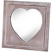 Hill Interiors Heart Mirror