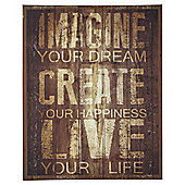 Imagine Your Dream Canvas 40x50cm