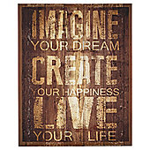 Imagine Your Dream Canvas 40x50cm