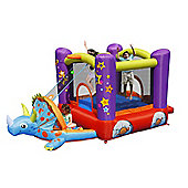 Dino's Playhouse Inflatable Bouncy Castle