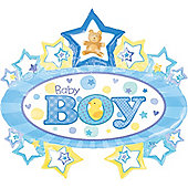 31' Baby Boy Marquee Supershape (each)