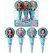 Sparkle Girlz Cone Mermaid Doll