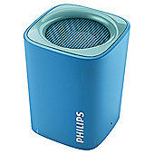 Philips BT100A  Portable Bluetooth Speaker Blue