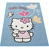 Hello Kitty Rug - Flowers