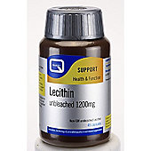 QUEST Lecithin 1200mg Unbleached 45 Capsules