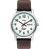 Timex T20041 Mens Leather Strap Analouge Watch