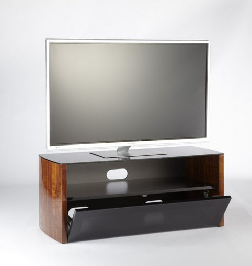 Iconic Acacia TV Stand - Black - 110cm