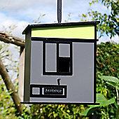 Modern 'Penthouse' Apartment Style Hanging Garden Bird House