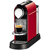 Nespresso CitiZ Coffee Machine Red