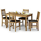 Julian Bowen Coxmoor Oak Dining Set