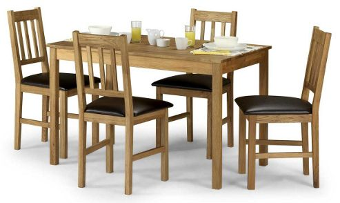 Buy Julian Bowen Coxmoor Oak Dining Set From Our Dining Table Chair Set
