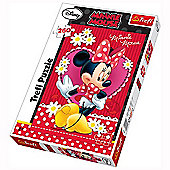Minnie Mouse 260 Piece Jigsaw Puzzle
