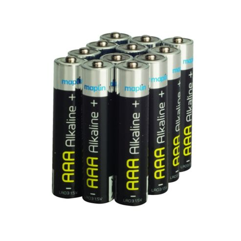 Maplin LR03 AAA Alkaline Long-life Battery