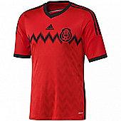 2014-15 Mexico Away World Cup Football Shirt - Orange